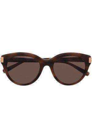 Boucheron Eyewear Tortoiseshell cat-eye sunglasses