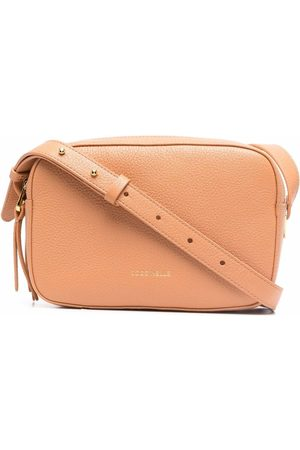 Coccinelle Leather cross body bag - Neutrals