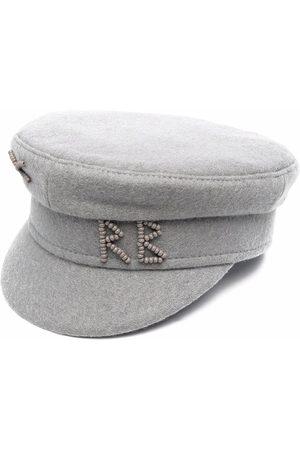 Ruslan Baginskiy Boys Hats - Bead-logo Baker Boy cap