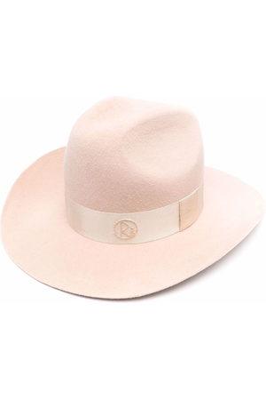 Ruslan Baginskiy Logo-trim Fedora hat - Neutrals