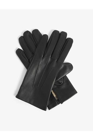 Dents Men Gloves - Hand-stitched silk-lined leather gloves