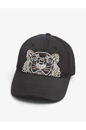 Kenzo Men Caps - Tiger-embroidered woven cap