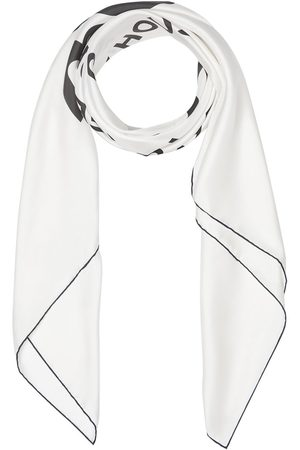Burberry Scarves - Horseferry Print Silk Large Square Scarf