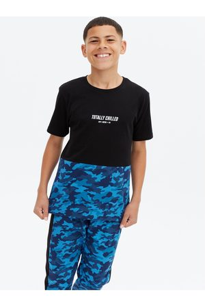 New Look Girls Pyjamas - Camouflage Jogger Pyjamas Set