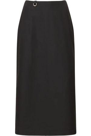 Saks Potts Carolyn Faille Midi Skirt