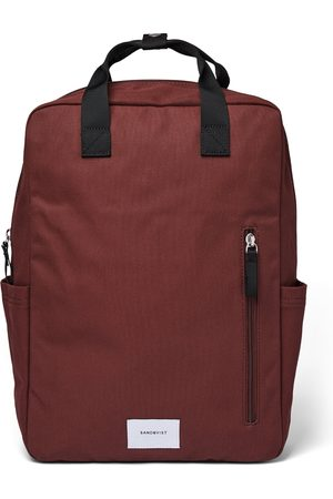 Sandqvist Suitcases - Knut Backpack - Molten Leaf With Webbing