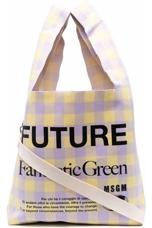 Msgm Women Handbags - Shopper tote bag