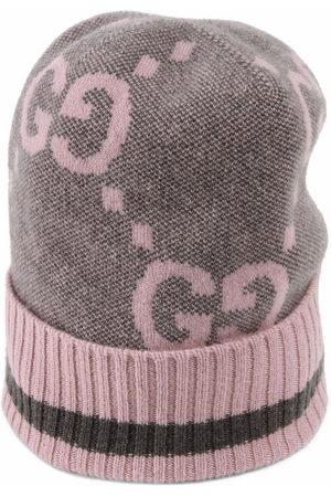 Gucci Intarsia-knit logo hat