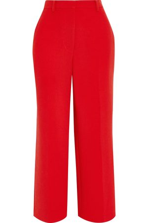 3.1 Phillip Lim Woman Cropped Crepe Straight-leg Pants Tomato Size 0