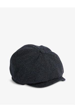 Ted Baker Men Caps - Ventt textured wool-blend cap