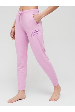 Juicy Couture Bamboo Jersey Fleece Slim Fit Joggers - Orchid