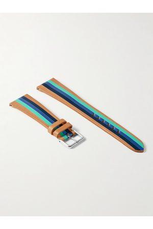 laCalifornienne Men Watches - Aquatica Striped Leather Watch Strap