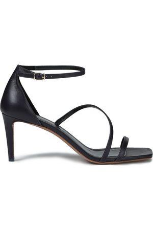 ZIMMERMANN Women Sandals - Woman Leather Sandals Dark Size 36