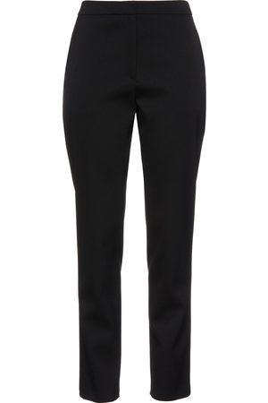 Carolina Herrera Women Formal Trousers - Woman Stretch-wool Twill Straight-leg Pants Size 0