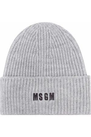 Msgm Embroidered-logo beanie