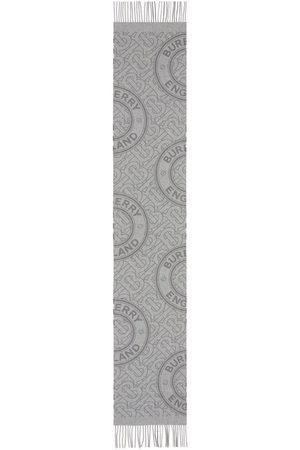 Burberry TB-Monogram cashmere scarf