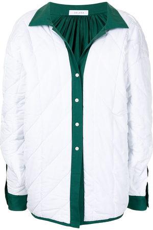 DELADA Women Jackets - Reversible shirt jacket