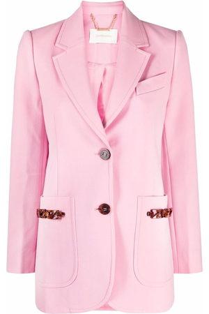ZIMMERMANN Women Blazers - Single-breasted wool-blend blazer