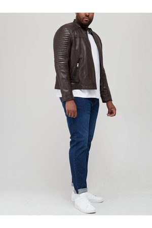 Very Man Leather Biker Jacket