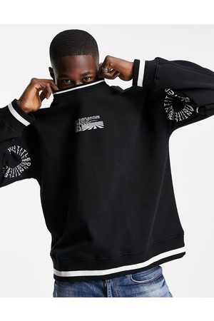 Topman Co-ord untitled sweatshirt in