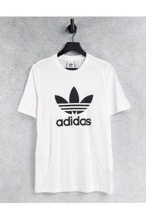 adidas Adicolor large logo t-shirt in