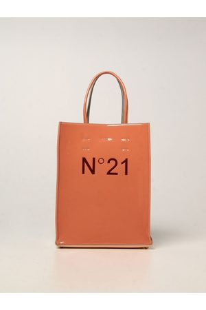Nº21 N ° 21 bag in synthetic patent leather