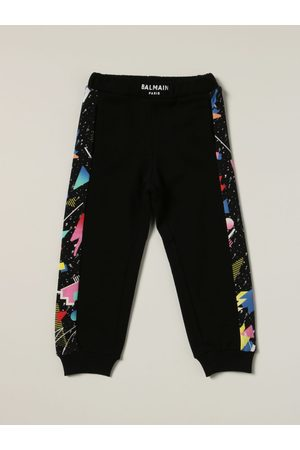 Balmain Jogging trousers with printed bands