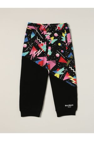 Balmain Jogging trousers with abstract print