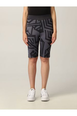 McQ Women Leggings - Icon In Dust by leggings with graphic print
