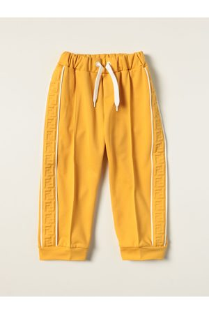 Fendi Jogging trousers in cotton blend with FF bands
