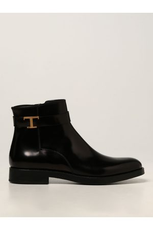 Tod's Women Ankle Boots - Tod's ankle boot in brushed leather