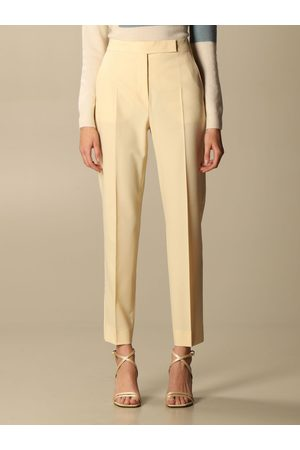 Max Mara Tempo trousers in virgin wool and Mohair