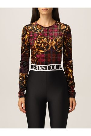 VERSACE Women Bodies - Body with check and baroque print