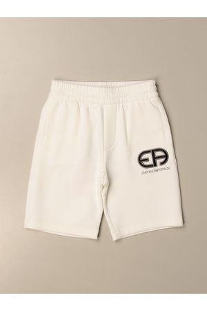 Emporio Armani Jogging shorts in cotton with logo