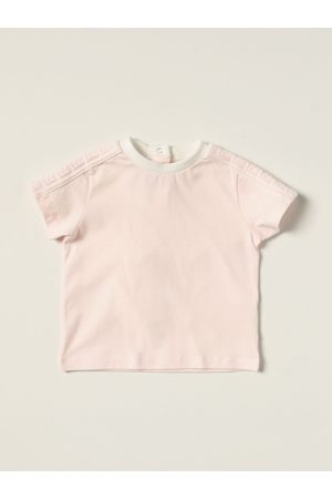 Fendi Cotton Tshirt with allover FF bands