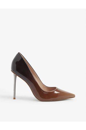 Carvela Sharp ombre patent court shoes