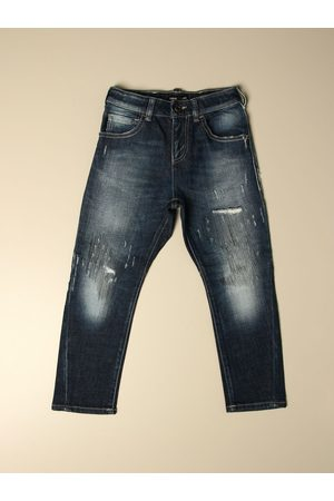 Emporio Armani Jeans Kids colour Denim
