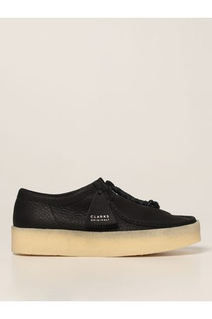 Clarks Originals Wallabee Cup moccasin in grained leather