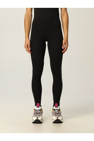 Dsquared2 Women Trousers - Leggings with logoed bands