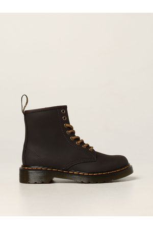 Dr. Martens Boys Boots - 1460 J boots in Wildhorse leather