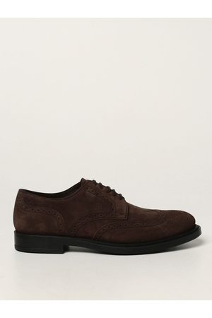 Tod's Tod's derby shoes in suede with brogue motif