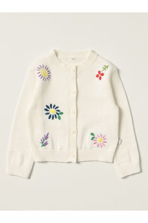 Stella McCartney Cardigan with floral embroidery