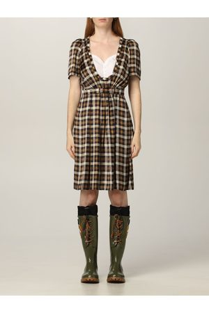 Dsquared2 Short checked dress