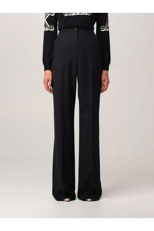 Max Mara Wide trousers in wool twill