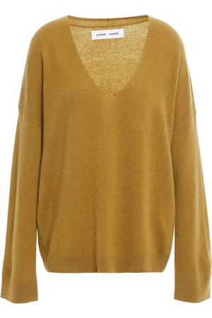 Samsøe Samsøe Women Jumpers - Samsøe Φ Samsøe Woman Cashmere Sweater Army Size L