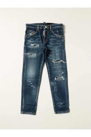 Dsquared2 Junior Boys Jeans - 5pocket jeans with rips