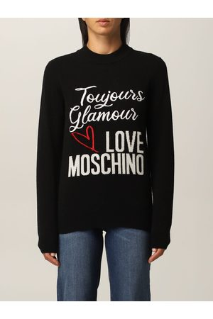 Love Moschino Sweater in wool blend with logo