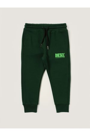 Diesel Jogging trousers in cotton with logo