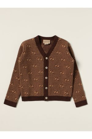 Gucci Cardigans - Cardigan in allover GG wool