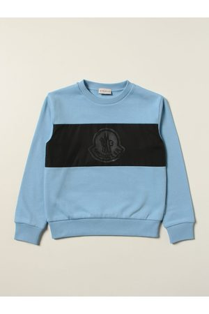 Moncler Boys Jumpers - Cotton jumper with logo